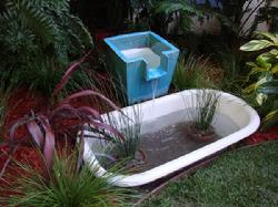 Garden by design for Turn pool into koi pond
